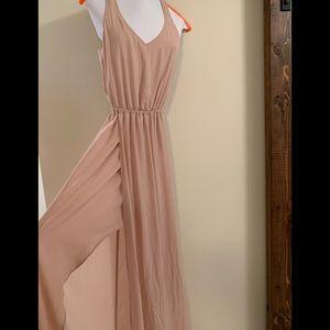 Blush formal/bridesmaid dress